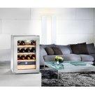 Liebherr borhűtő szekrény Wkes 653, nemesacél borítással 12 bordói palack számára - Prémium minöség
