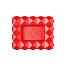 Colibri Quasar Red, nagy méretü szivar hamuzó 6 szivar számára - piros
