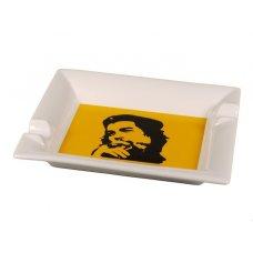 Padonio szivaros hamutál Che - Porcelán, fehér - sárga