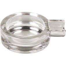 Padonio üveg - szivaros hamutál, kör alakú - 8,5 x 3,5 cm