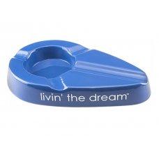 Xikar kerámia szivar hamutál Livin the Dream 4 szivar - kék