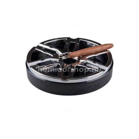 Xikar Burnout szivar hamutál 6 szivaros részére - króm