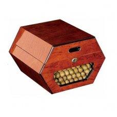 Don Salvatore - Cuban Wheel cédrusfa szivar tartó doboz -  50 szivarnak - zárható