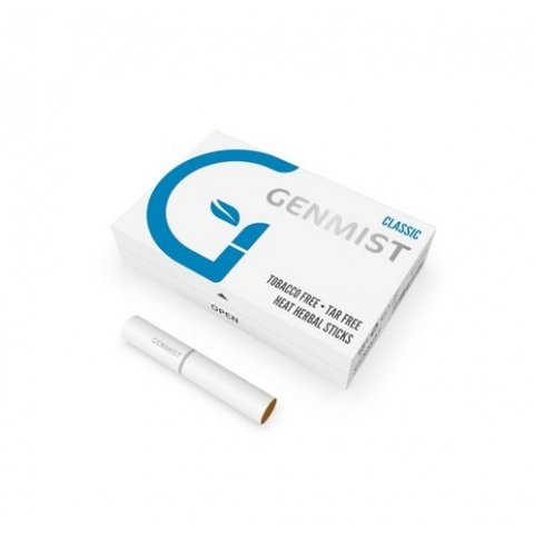 Genmist Classic, Nikotinos ízesítés nélküli hevítőrúd, 1 doboz - 20db