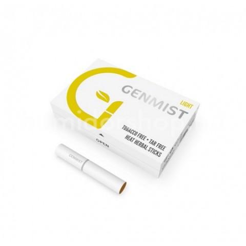 Genmist Light, Nikotinos ízesítés nélküli hevítőrúd, 1 doboz - 20db