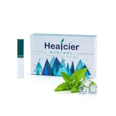 Healcier Menthol, lágy menta ízű nikotinmentes hevítőrúd, 1 doboz - 20db