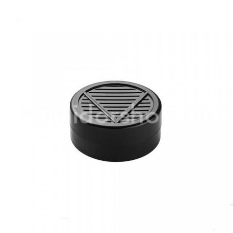 Akrylpolimer kristályos párásító kerek fekete színű - Angelo