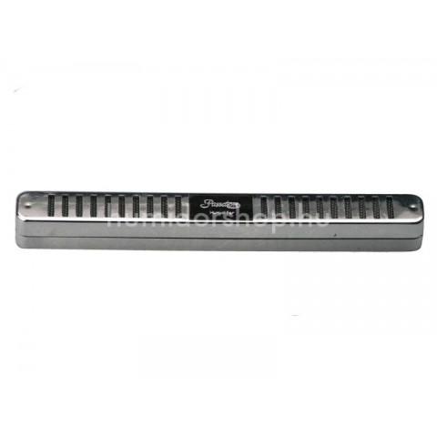 Passatore szivar doboz párásító, króm - 16 x 1.7cm