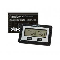 Xikar digitális Hygrométer és Termométer - fekete