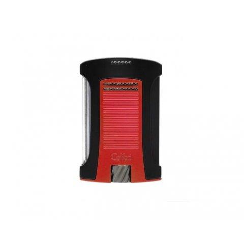 Colibri Daytona Red erős egyes szúrólángos szivar öngyújtó piezo gyújtással - piros
