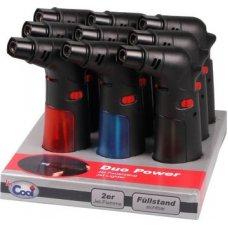 Cool Duo Power, 2-es szúrólángos vihargyújtó állítható láng mérettel - 9 darab