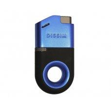 Dissim Blue Soft Flame öngyújtó 45 fokban döntött lánggal, szivar és pipa gyújtásra is használható - kék