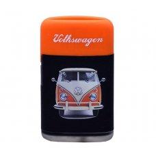 Prof szúrólángos öngyújtó narancssárga színű Volkswagen Transporter T1 mintával - kék színű lánggal