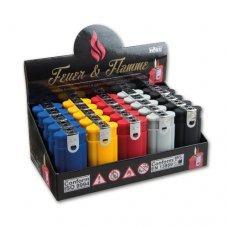 Tobaliq Rainbow öngyújtók dupla lánggal normál és szúróláng is, dohányboltok számára - 25 darab