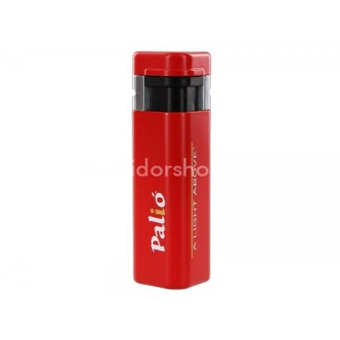 Palió Triple Flame 3-as szúrólángos szivargyújtó, flip-top fedéllel - piros