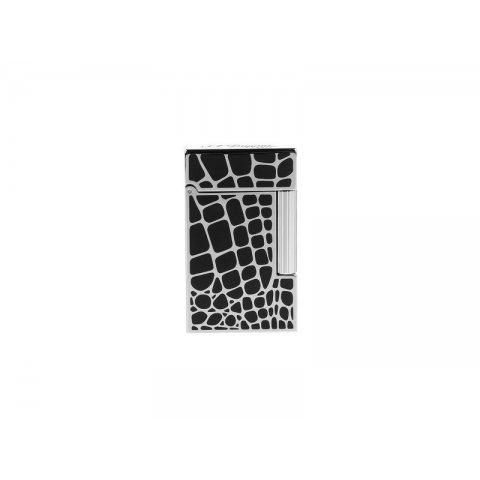 S.T. Dupont L2 Dandy mintás szivargyújtó, fekete színű kínai lakkal - Palládium