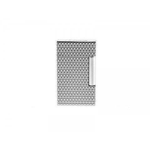 Szivaröngyújtó S.T. Dupont Ligne 2 Firehead mintás - Palládium