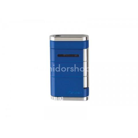Xikar Allume Blue Single - szivar öngyújtó 1-es szúró lánggal - kék