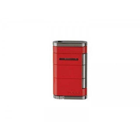 Xikar Allume Red Single - szivar öngyújtó 1-es szúró lánggal - piros