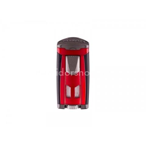 Xikar HP3 Red szivar öngyújtó 3-as szúró lánggal nagy méretű szivarokhoz - vörös