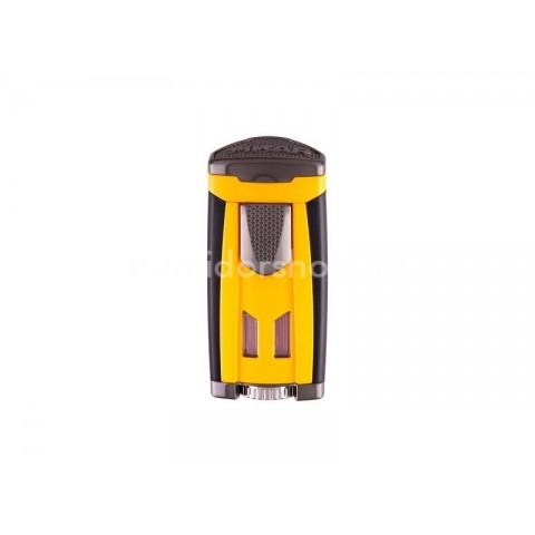 Xikar HP3 Yellow szivar öngyújtó 3-as szúró lánggal nagy méretű szivarokhoz - sárga