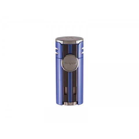 Xikar Hp4 Quad Blue szúró lángos szivar öngyújtó, kék