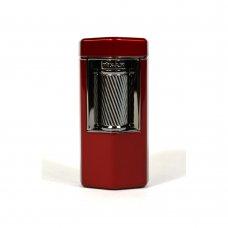 Xikar Meridian Red Soft Flame szivaros öngyújtó nagy méretű szivarokhoz is - vörös