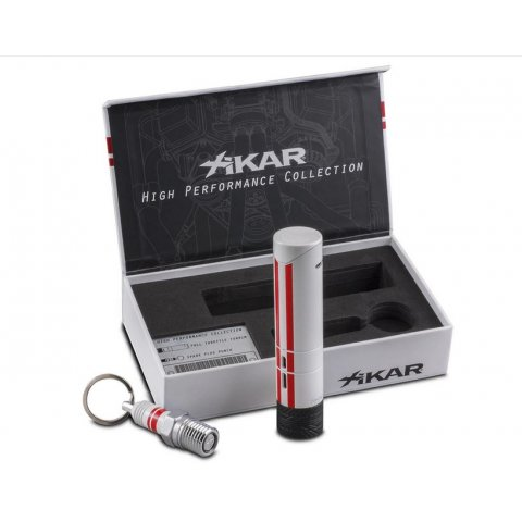 Xikar Turrim asztali szivargyújtó és Xikar Spark 11mm szivarfúró ajándék szett díszdobozban - limitált kiadás!
