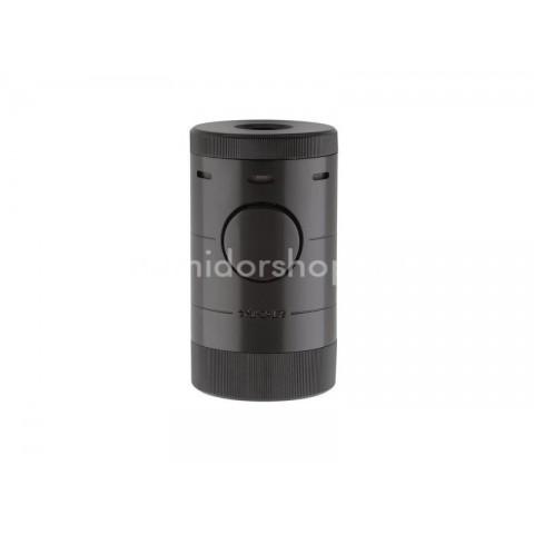 Xikar Volta Tabletop Black - asztali szivargyújtó 4-es szúrólánggal - fekete