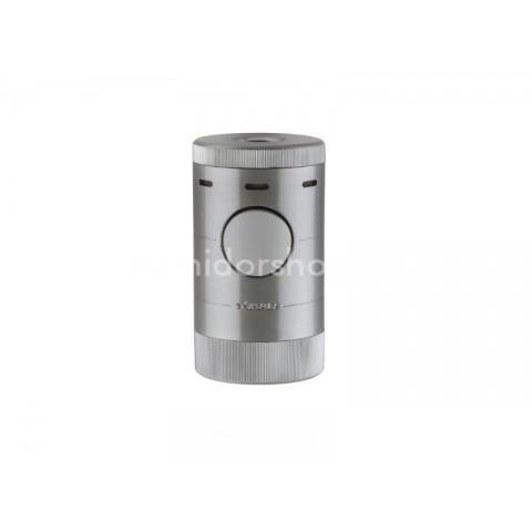 Xikar Volta Tabletop Silver - asztali szivargyújtó 4-es szúrólánggal - ezüst