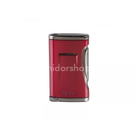 Xikar Xidris Daytona Red, vörös színű szivar öngyújtó Jet lánggal - Direct Inject Flame