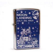 Benzines Zippo öngyújtó  -  Moon Landing
