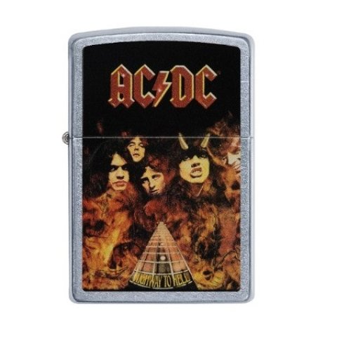 Benzines Zippo öngyújtó  - AC/DC Highway to Hell