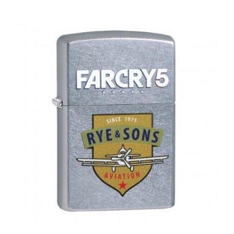 Benzines Zippo öngyújtó  - FarCry 5 logo