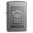Benzines Zippo öngyújtó - Black Ice Armor - Jack Daniels