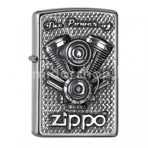Benzines Zippo öngyújtó  - The Power of V2