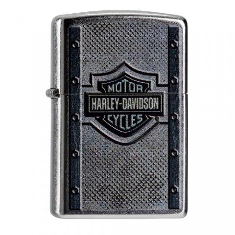 Benzines Zippo öngyújtó  - Harley Davidson logo