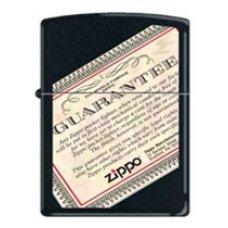 Benzines Zippo öngyújtó  -  Zippo Guarantee