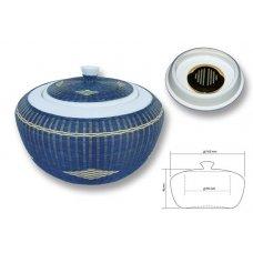 Chacom Bamboo kerámia pipa dohány tartó beépített párásítóval - kézzel készített