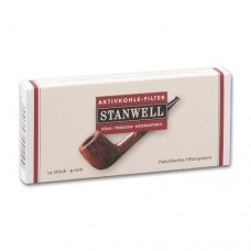 Stanwell pipa filter aktívszenes 9mm - 10db