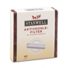 Stanwell pipa filter aktívszenes 9mm - 40db