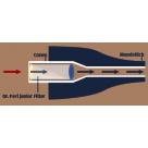 Vauen Dr Perl Junior Jubig pipa filter aktívszenes 9mm - 100db