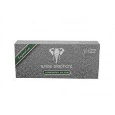 White Elephant Supermix 9mm pipafilter 20 db, tajtékkővel és aktívszénnel töltve