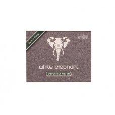 White Elephant Supermix 9mm pipafilter 40 db, tajtékkővel és aktívszénnel töltve