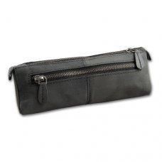 Minőségi pipa táska 1 pipa részére szürke színű, eredeti bivaly bőr - Padonio