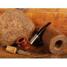 Big Ben Mavyn Tan polírozott barna színű bruyer pipa, alumínium szárral, 9mm filteres
