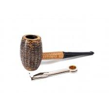 Missouri Meerschaum Country Gentleman kukorica pipa egyenes szárral és 6mm filterrel