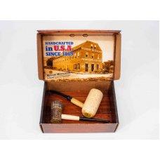 Missouri Meerschaum American Assortment Gift Set, kukorica pipa ajándék szett - díszdobozban
