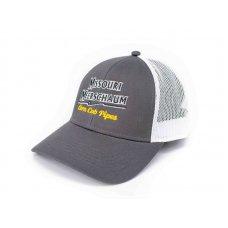 Eredeti Missouri Meerschaum Trucker baseball sapka, hímzett Corn Cob Pipes felirattal - Mesh Hat