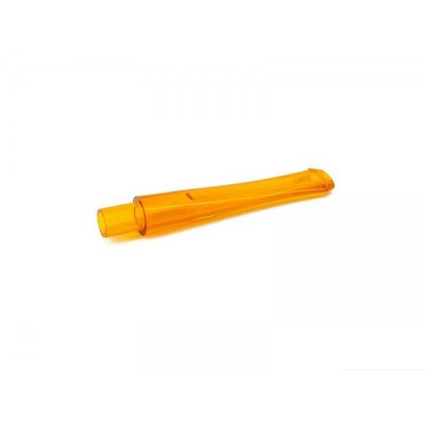 Missouri Meerschaum kukorica pipa egyenes szopoka, 6mm filteres pipákhoz - sárga